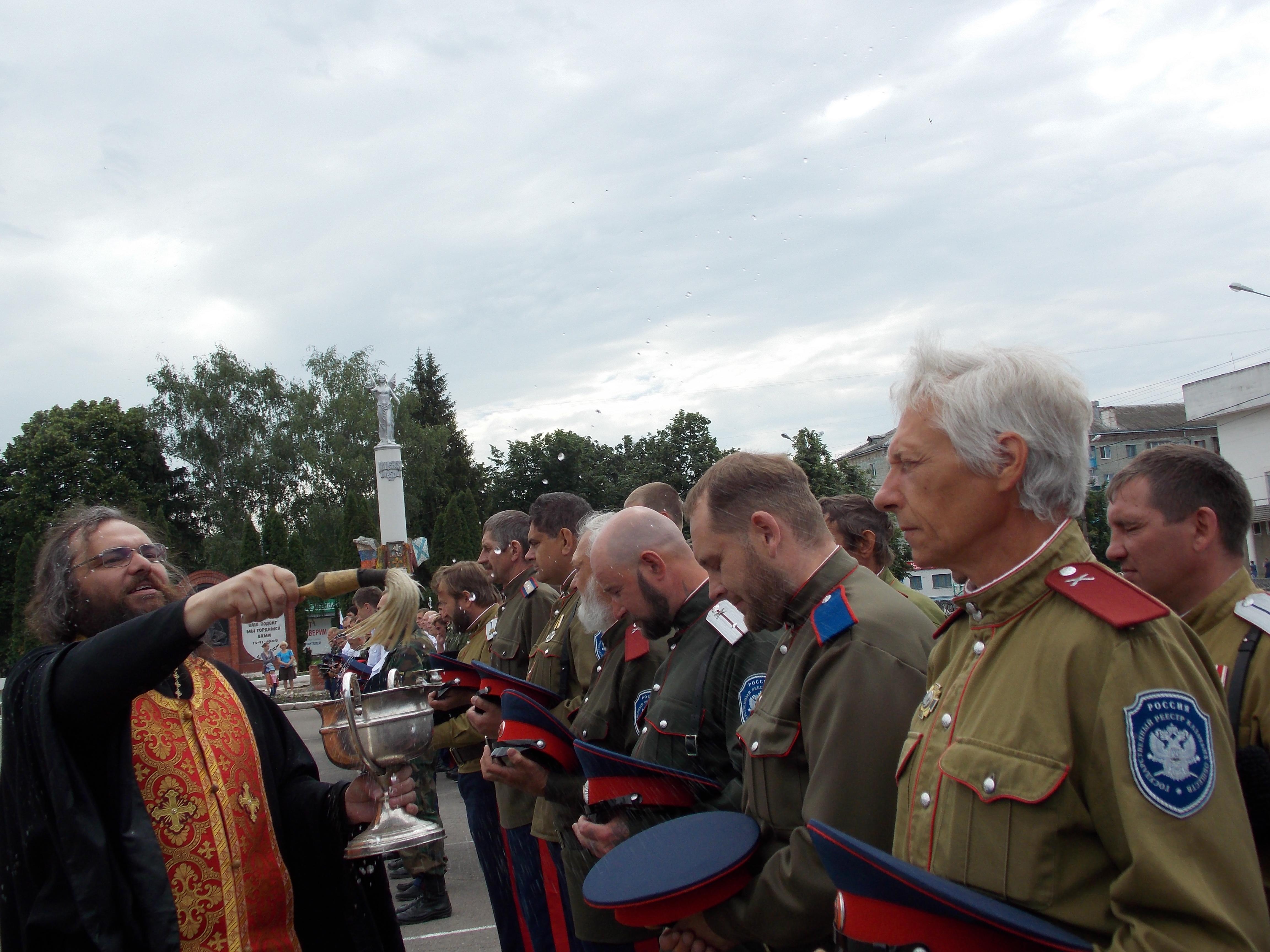 31 мая 2014. г. Мценск. Строевой смотр казачьих подразделений.